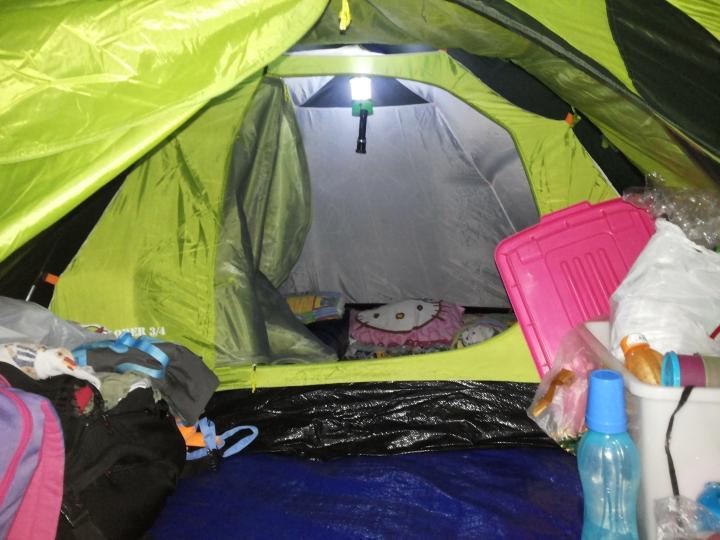 Camping Di Pondok HalimunTaman Nasional Gunung Gede