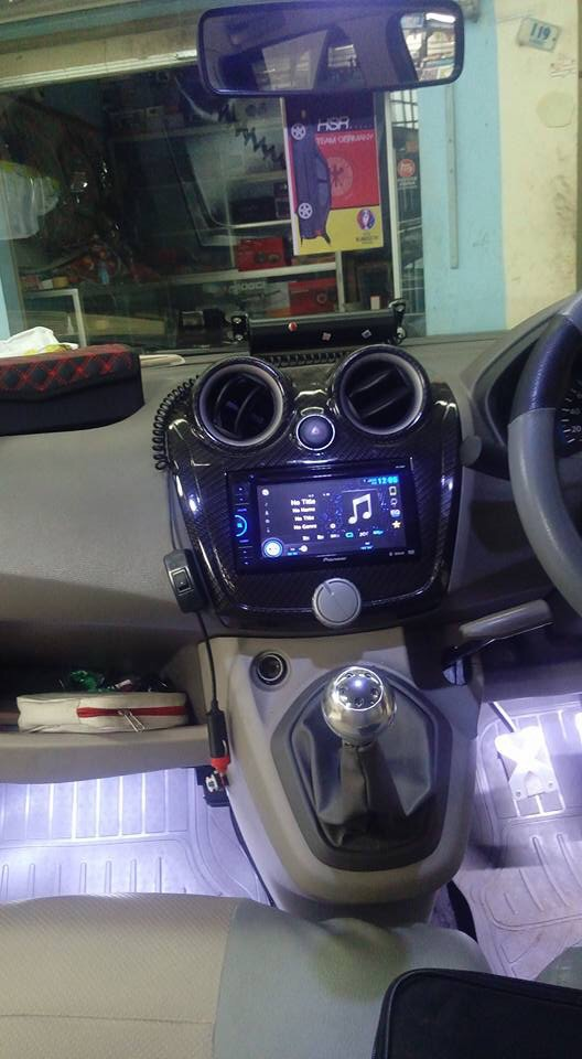 New Carbon Frame Double Din Head Unit of Datsun Go+ – The ...